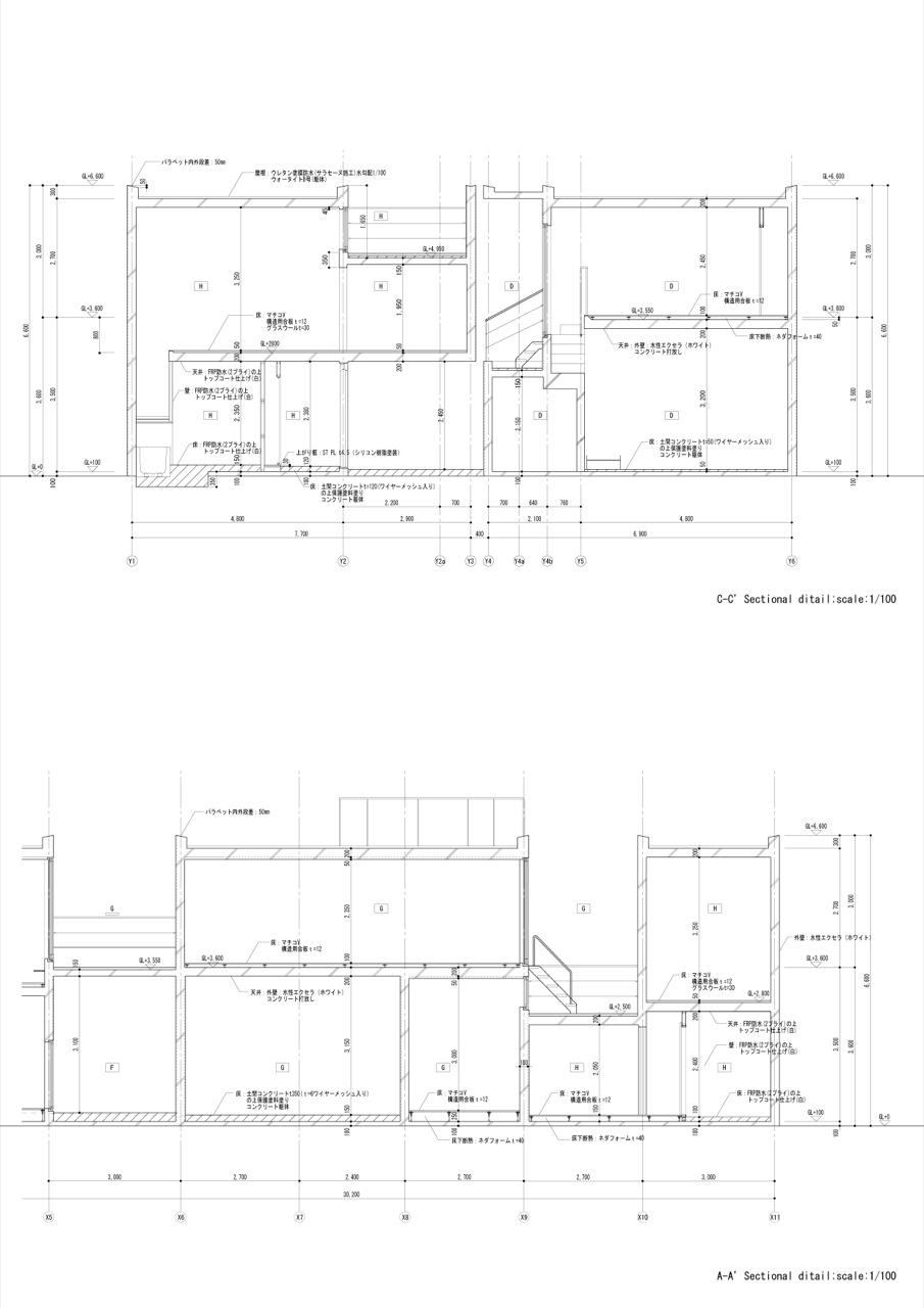 sectional details