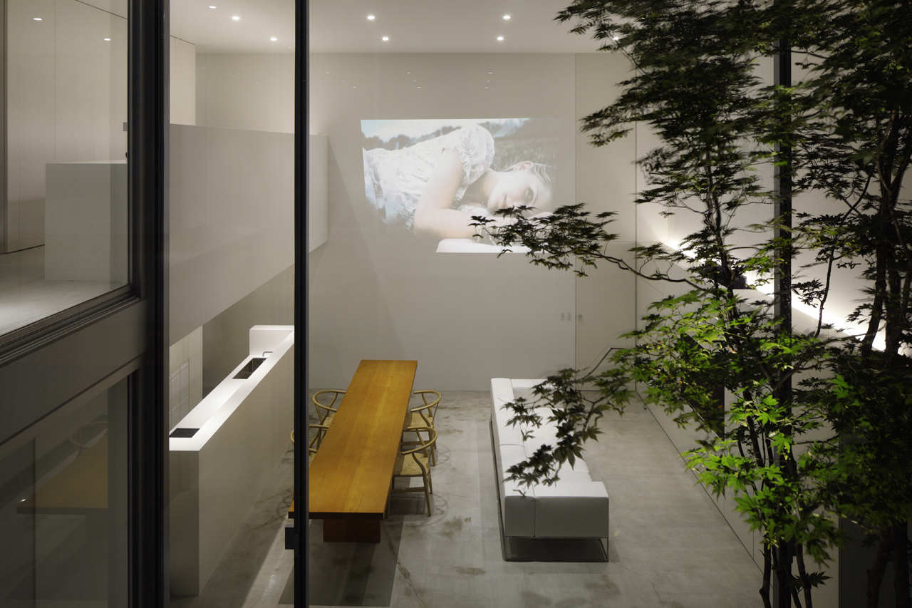Cube Court House Shinichi Ogawa Associates Mooponto